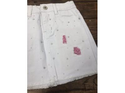 Джинсовая юбка стрейч