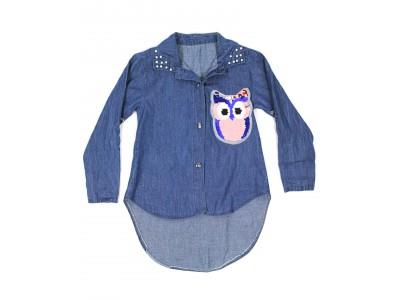 Рубашка с совой