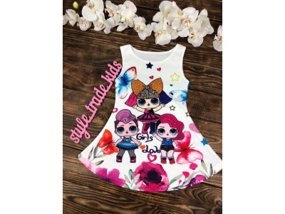 Платье сарафан для девочки кукла LOL