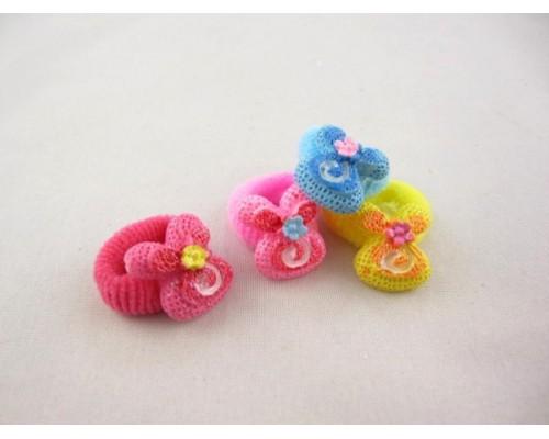 Резинка для волос махровая  малая (40 штук в упаковке)
