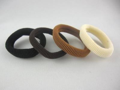 Резинка для волос нейлоновая  (диаметр - 6 см) (50 штук в упаковке)