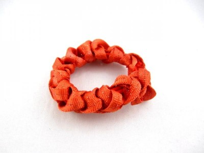 Резинка для волос плетёная (20 штук в упаковке)
