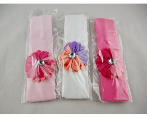 Повязка для волос детская (12 штук в упаковке)