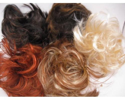 Резинка для волос волосяная (20 штук в упаковке)
