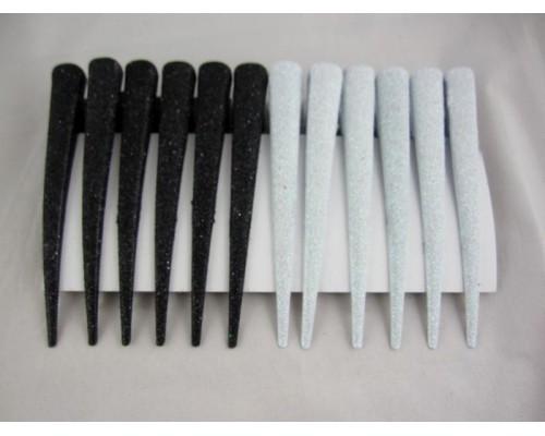 Заколка для волос уточка большая (12 штук в упаковке)